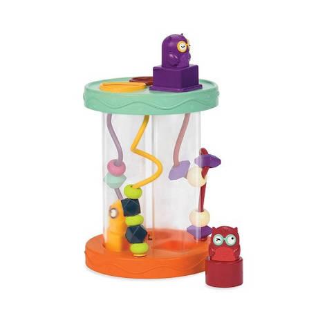 """Развивающие и обучающие игрушки «Battat» (BX1384Z) сортер-лабиринт """"Совушка Угу-гу"""" (звук. эффекты), фото 2"""