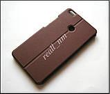 Чехол книжка для Xiaomi Mi Max, чехол Logo Stand коричневый, фото 5