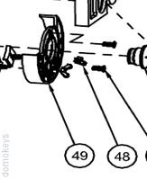 Вузол магнітних вимикачів шлагбаума ASB6000 AN-MOTORS ASB.205