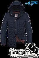 Стеганная куртка с капюшоном зима Braggart на молнии