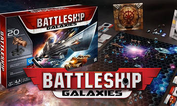 Настольная игра Battleship Galaxies: The Saturn Offensive Game Set, фото 2