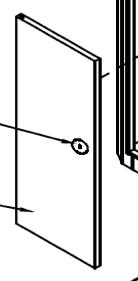 Ключ дверцы шлагбаума ASB6000 AN-MOTORS ASB.115