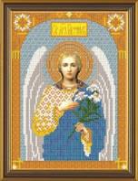 Рисунок на ткани для вышивания бисером Архангел Гавриил БИС 9005