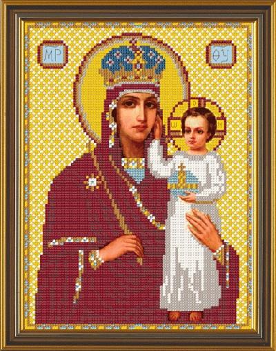 Рисунок на ткани для вышивания бисером Богородица «Призри на смирение» БИС 9027