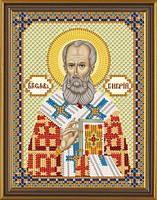 Рисунок на ткани для вышивания бисером Св. Григорий Богослов БИС С 6113