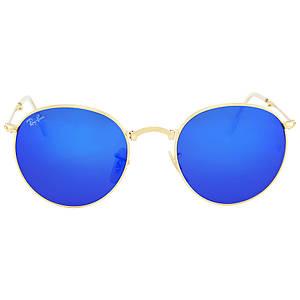 Солнцезащитные очки Ray-Ban Round Metal Folding Blue Mirror RB35320016850