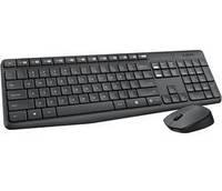 Комплект Logitech Wireless Desktop MK235 USB  клавиатура+оптическая мышь)