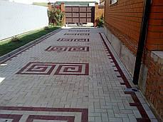 """Тротуарная плитка вибролитая """"Брусчатка"""" , фото 3"""