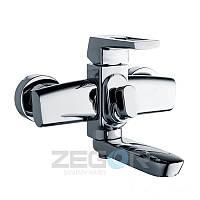 Смеситель для ванны ZEGOR NEF3, короткий гусак