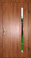 Вхідні двері модель Т-1-3 272 vinorit-90 СКЛО