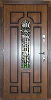 Входная дверь модель Т-1-3 217 vinorit-90 КОВКА  +ПАТИНА