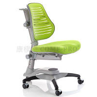 Детское кресло Оксфорд KY-618 С-3 жесткая спинка зеленый