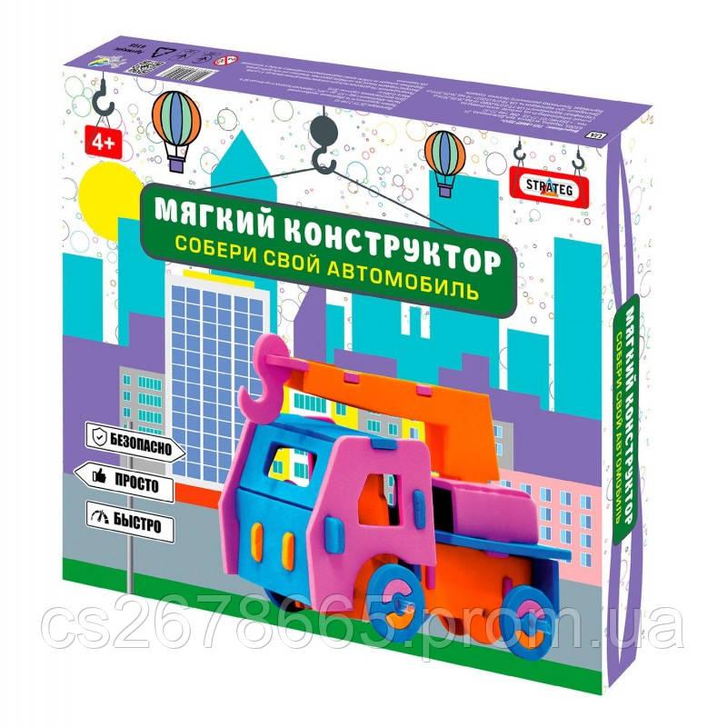 "Мягкий конструктор ""Автомобиль-кран"" 6105"