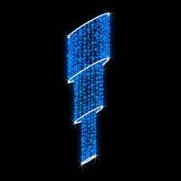 Светодиодная конструкция кронштейн на опору Каскад LUMIERE 1.6*0.8м