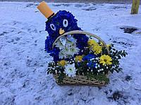 Цветочные игрушки из хризантем, фото 1