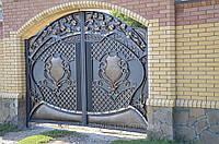 Красивые ворота,ковка,художественная ковка,эксклюзивные ворота,супер ворота.