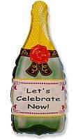 """Воздушный шар """"Бутылка шампанского"""""""