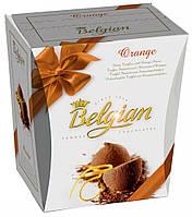 Шоколадные трюфели с апельсином Belgian Fancy Truffes With Orange 200 г (Бельгия)