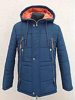 Демисезонная  куртка для мальчика рост 149-154
