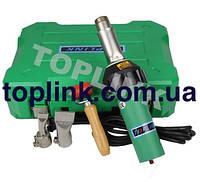 Сварочный термофен горячего воздуха для пвх мембраны, банерной и тентовой ткани Toplink-N