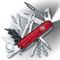 Нож швейцарский Victorinox CyberTool Lite красный