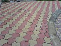Тротуарная плитка «Бикини» Желтый