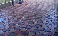 Тротуарная плитка «Бикини» Коричневый