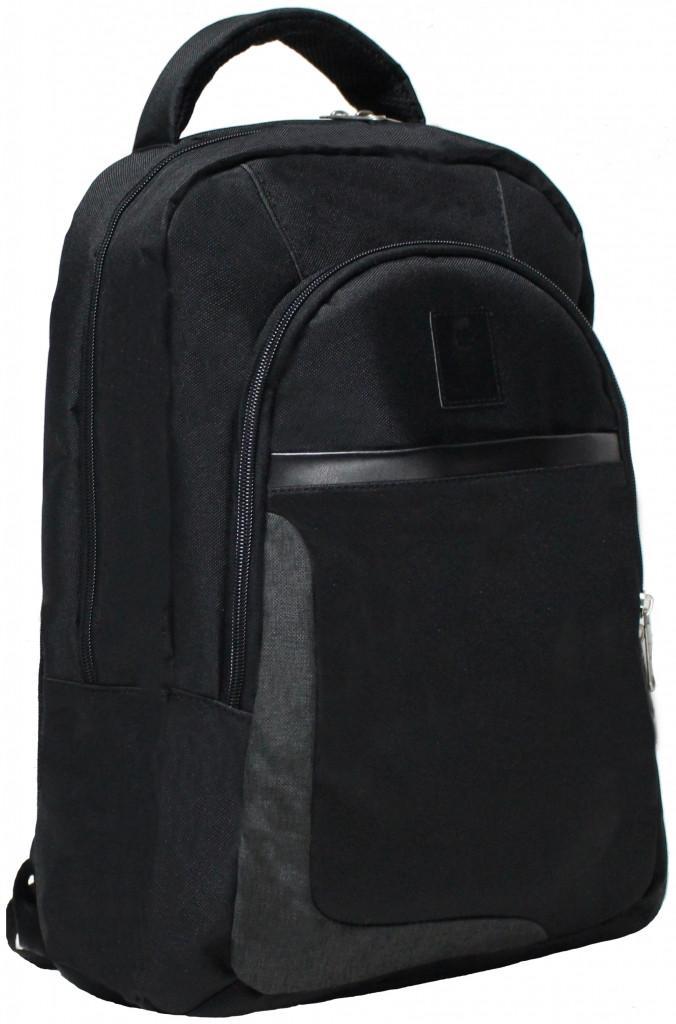 """Современный городской рюкзак 15,6"""" Bagland Boost, 0010766 (Черный)"""