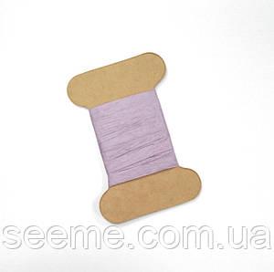 Рафия бумажная, цвет лаванда, 3 метра.