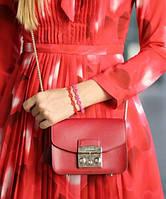Женская сумка FURLA METROPOLIS RED (7701)