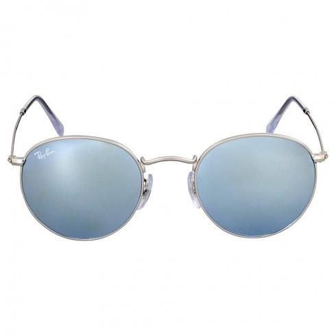 Солнцезащитные очки Ray-Ban Round Silver Flash RB34470193050