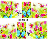 """Наклейка на ногти, наклейка для ногтей, ногтевой дизайн """"бабочки"""" 10 шт набор"""