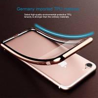 """Прозрачный чехол для Apple iPhone 7 (4.7"""") с глянцевой окантовкой"""