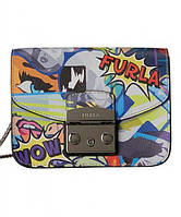 Женская сумка FURLA METROPOLIS GRAFFITI MINI CROSSBODY (7722)