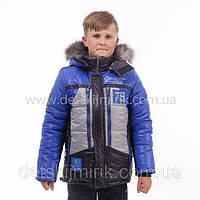 """Детская зимняя куртка для мальчика """"ЧЕМПИОН STATE"""""""