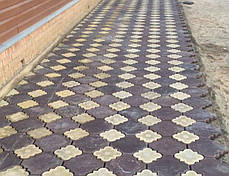 Тротуарная плитка «Гжель», фото 3