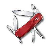 Нож швейцарский Victorinox Delemont Evolution S111 красный