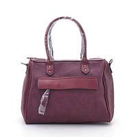 Женская сумка L. Pigeon красного цвета