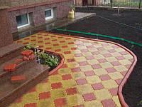 Тротуарная плитка «Гжель» Желтый