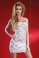 Сексуальный облегающий пеньюар Latisha TM Livia Corsetti (Польша) Цвет белый