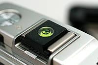 Заглушка гарячого башмака фотокамери (з рівнем), фото 1