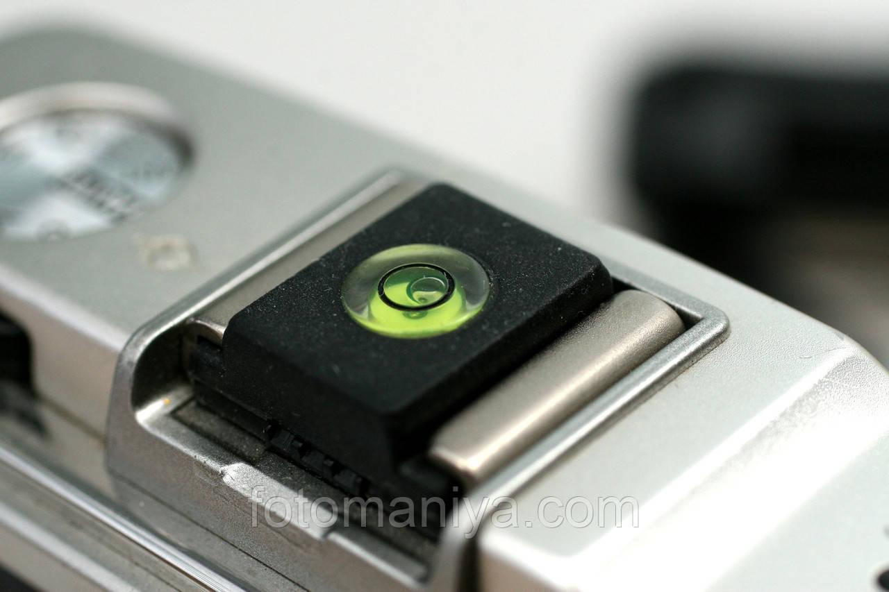 Заглушка гарячого башмака фотокамери (з рівнем)