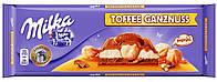 Шоколад молочный Milka Toffee Ganznuss (милка с фундуком и карамелью), 300 гр
