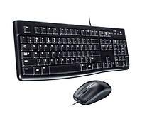 Комплект Logitech Desktop MK120 Black USB (920-002561)
