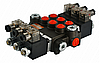 Гідророзподільник (Гидрораспределитель) 3 секції Z80 літрів 12V Badestnost
