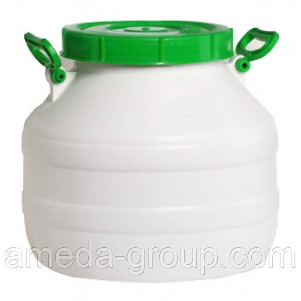 Бочка пластиковая пищевая 30л - АмедА Груп ТМ в Кропивницком