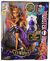 Кукла Monster High 13 Wishes Haunt the Casbah Clawdeen Wolf Doll Клодин Вульф 13 желаний