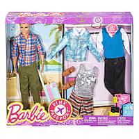 Игровой набор Барби Модный Кен/Barbie Pink Passport Ken Fashion Doll Gift Set
