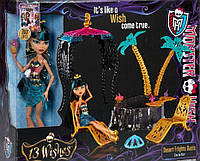 Кукла Monster High 13 Wishes Oasis Cleo De Nile Doll & Playset Клео де Нил 13 желаний