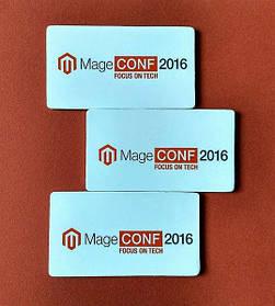 Магнитные визитки на вспененной основе. Размер 90х50 мм 5